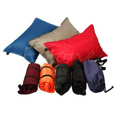 Automatic Inflatable Air Cushion Pillow Outdoor Travel Camping Hiking Portable