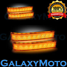 09-14 FORD F150 Mirror LED Light+Turn Lights LED+AMBER Lens Replacement Set