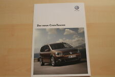 73237) VW Touran CrossTouran Prospekt 08/2010