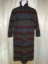 Vintage Woolrich Wool blend Nordic design Trench Coat  women's M
