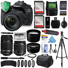 Canon EOS 80D DSLR Digital Camera + 18-135mm + Professional Kit with Warranty