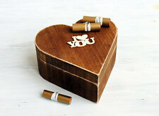 Gift For Her,Gift For Him,Valentines day gift, Heart Box, 52 Reasons,I Love You