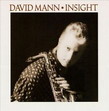 Insight by David Mann (Sax) (Cassette, Feb-1989, Antilles) NEW Sealed