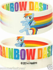 RAINBOW DASH REVERSIBLE RUBBER BRACELET NEW RELEASE MY LITTLE PONY FREE SHIPPING