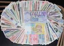100pcs 30countries Different paper money UNC World Banknotes set Uncirculated