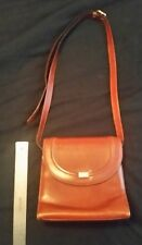 Vintage BALLY Brown Genuine Leather Hand Bag Made in Italy