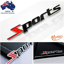 SPORTS 3d metal badge emblems Decals Gifts racing car stickers 4x4,4WD -