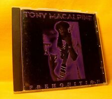 Signed CD ! Tony MacAlpine Premonition 13TR 1994 Heavy Metal