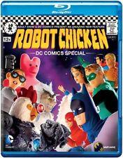 ROBOT CHICKEN: DC SPECIAL (Seth Green) - BLURAY - Region Free