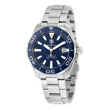Tag Heuer Aquaracer Automatic Navy Blue Dial Stainless Steel Mens Watch