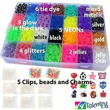 THE ULTIMATE! COMPLETE STORAGE ORGANIZER w8400+ RUBBER BANDS RAINBOW LOOM REFILL