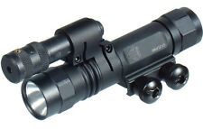 UTG LT-ZLP38 Xenon Weapon Mount Light & Red Laser with Rotation Ring