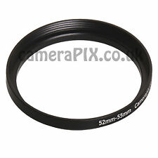 52mm to 55mm Male-Female Stepping Step Up Filter Ring Adapter 52-55 52mm-55mm UK