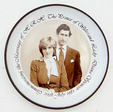 Vintage Hornsea Pottery Royal Wedding Princess Diana Charles 1981 Pin Tray