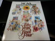 1988 NCAA FINAL FOUR BASKETBALL CHAMPIONSHIP PROGRAM OKLAHOMA KANSAS DUKE ARIZON