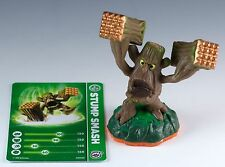Skylanders Giants Stump Smash Figure Loose With Trading Stat Card