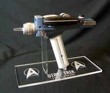 1 X Soporte de exhibición de acrílico-Diamond Select Star Trek Classic PHASER Prop Replic