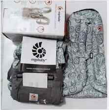 New ERGO Original Baby Carrier Galaxy Grey with Gray Infant Insert ,