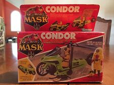 M.A.S.K. CONDOR VEHICLE MASK BRAD TURNER & BOX KENNER