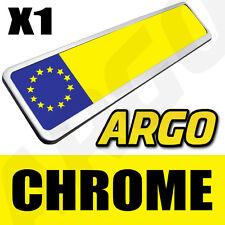 CHROME NUMBER PLATE HOLDER TOYOTA IQ MR2 YARIS CARINA