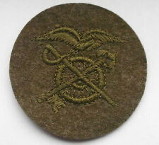 american first war quatermaster   cloth trade patch  wool type