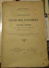 Germain MARTIN/ ÉVOLUTION ÉCONOMIQUE DES GRANDES NATIONS/Cours du Caire, 1909-10