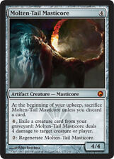 MTG magic cards 1x x1 Light Play, English Molten-Tail Masticore Scars of Mirrodi