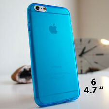 Clear Soft TPU silicone gel case cover for iPhone 4 4S 5 5S 5C 6 FREE SCREEN PRO