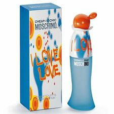 MOSCHINO CHEAP AND CHIC I LOVE LOVE 100ML EDT SPRAY BRAND NEW & SEALED *