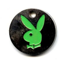 Green Rabbit/Bunny Trolley Key Ring/Token/Coin/Supermarket/Locker/Dog Collar