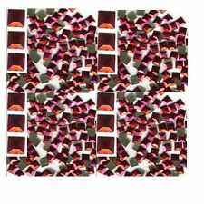 SQUARES Faceted Rhinestuds 5mm  RED  Hot Fix  144 PC