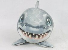 Fur Balls Great White Shark ~ Cuddly Round Plush Pets, 3D Graphics, Style #13