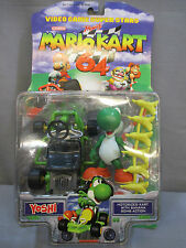 "Nintendo 1999 Toy Biz Mario Kart 64 ""YOSHI"" figure *NEW* Factory Sealed"
