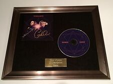 PERSONALLY SIGNED/AUTOGRAPHED THE PIERCES - CREATION FRAMED CD PRESENTATION.