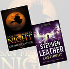 Stephen Leather 2 Books Collection Set (San Francisco Night) Paperback New Pack