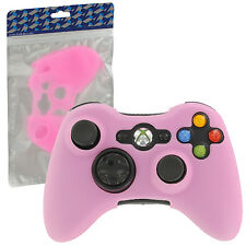 ZedLabz silicone case for Xbox 360 controller skin protector cover grip - pink