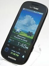 Samsung SCH-I400 Continuum Verizon Black Touchscreen Smart Cell Phone Android