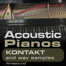 40 ACOUSTIC PIANOS for KONTAKT .nki INSTRUMENTS & 1100 WAV SAMPLES Great Quality