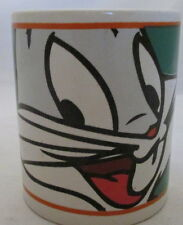 Bugs Bunny Full Face Coffee Mug Looney Tunes Warner Brothers 2000 Gibson Carrot