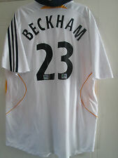LA Galaxy 2007-2008 Beckham 23 Home Football Shirt Size Large Adult /39994