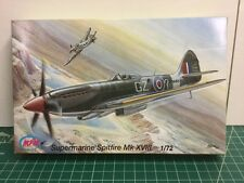 MPM 1/72 Supermarine Spitfire Mk XVIII Model Kit C72026 (Sealed Inside)