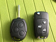 FORD MONDEO FOCUS FIESTA PUMA KEY FOB REMOTE FULL FLIP TYPE CAN CUT AND PROGRAM