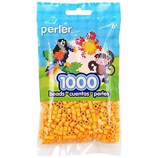 1000 Perler Cheddar Color Iron On Fuse Beads
