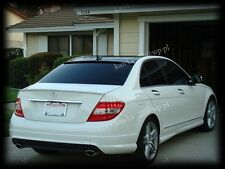 Mercedes C-Class W204 Rear WINDOW Spoiler ~PRIMED & PREPARED~