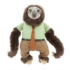 """Disney Store Zootopia Flash the Sloth 14"""" Plush B1 New with Tags *SOLD OUT*"""