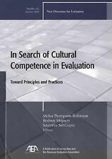 Melva Thompson Robinson - In Search Of Cultural Competen (2004) - Used - Tr