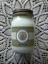 JAR CANDLE...HERITAGE CANDLES BRAND..Magnolia...Highly Scented.16 Ounce..