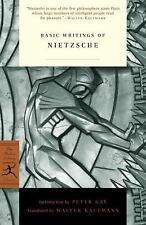 Basic Writings of Nietzsche by Friedrich Wilhelm Nietzsche Paperback Book (Engli