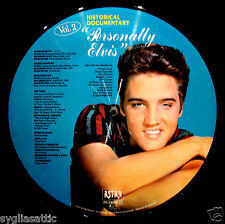 ELVIS PRESLEY-PERSONALLY ELVIS-NEVER PLAYED PICTURE DISC-IMPORT DISC-ROCKABILLY
