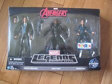 MARVEL Legends Agent Coulson / Nick Fury / Maria Hill Figures TRU Exclusive NEW